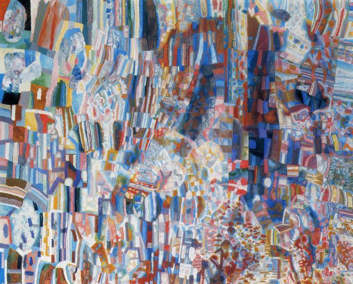 Composition, 1928 - 1929 - Pavel Filonov