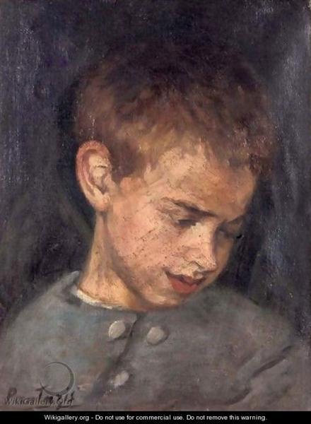 Portrait Of A Boy - Pericles Pantazis