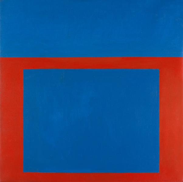 """Cool"" Series No. 7 (Square Shooter), 1963 - Perle Fine"