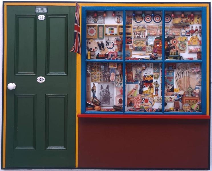 The Toy Shop - Peter Blake