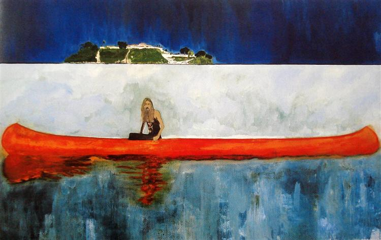 100 Years Ago, 2001 - Peter Doig