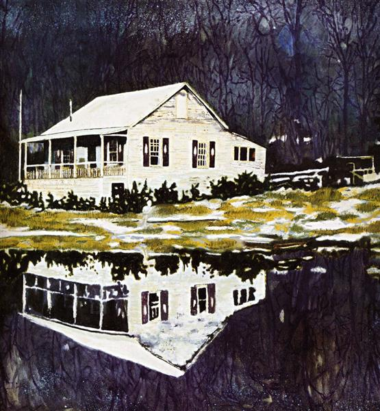 Camp Forestia, 1996 - Peter Doig