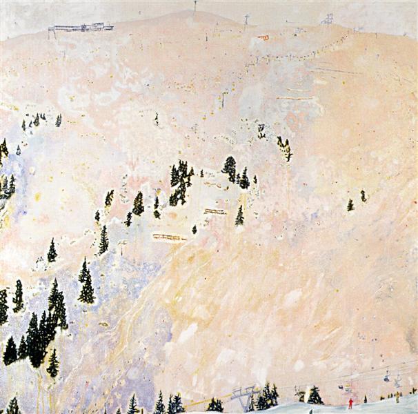 Saint Anton (Flat Light), 1996 - Peter Doig