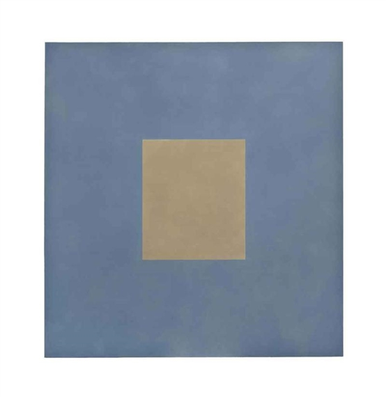 Ochre with Dusty Blue, 1997 - Peter Joseph