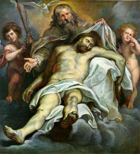 Holy Trinity - Peter Paul Rubens