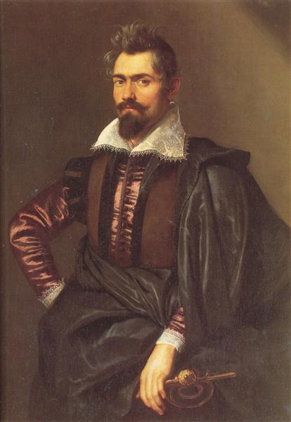 Portrait of Gaspard Schoppins, c.1604 - c.1605 - Peter Paul Rubens