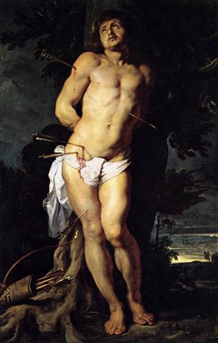 St. Sebastian - Peter Paul Rubens