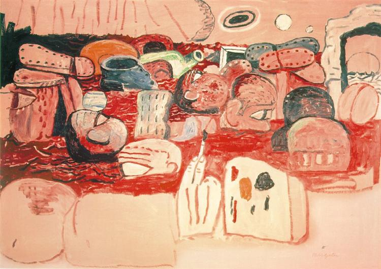 Deluge II, 1975 - Philip Guston
