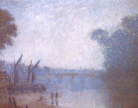 A Classic Landscape, Richmond, 1893 - Philip Wilson Steer