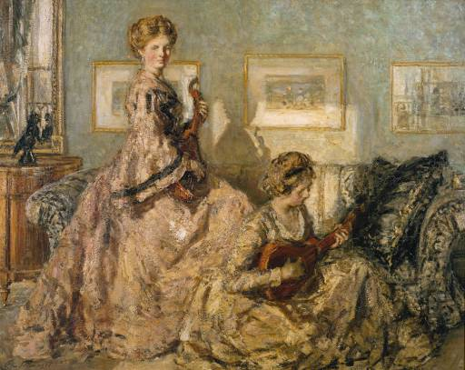 The Music Room, 1905 - 1906 - Philip Wilson Steer