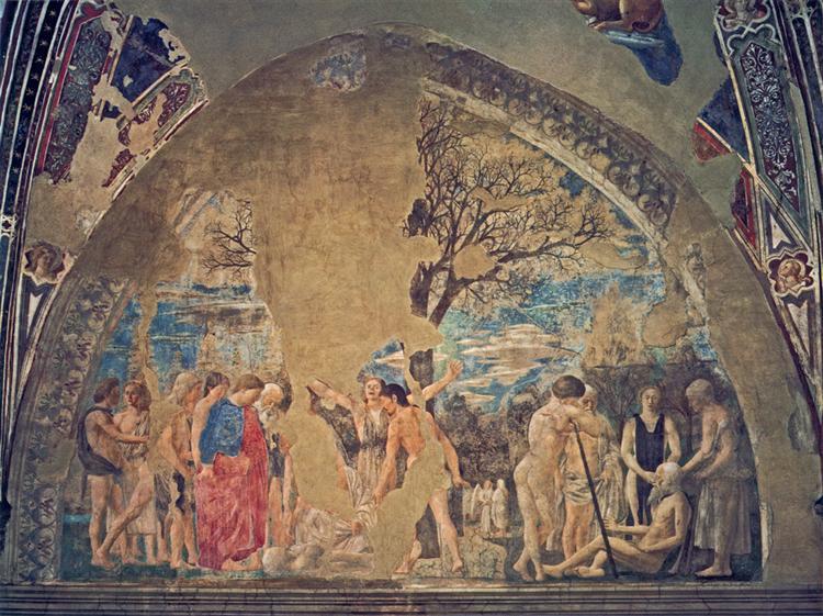 Death of Adam, 1452 - 1458 - Piero della Francesca