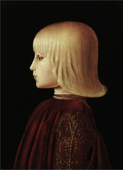 Portrait of a boy, c.1483 - Piero della Francesca