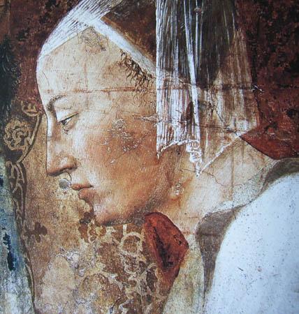 Queen of Sheba, 1452 - 1466 - Piero della Francesca