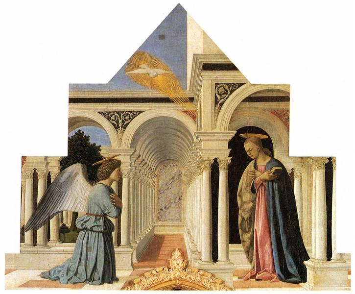The Annunciation, c.1460 - Piero della Francesca