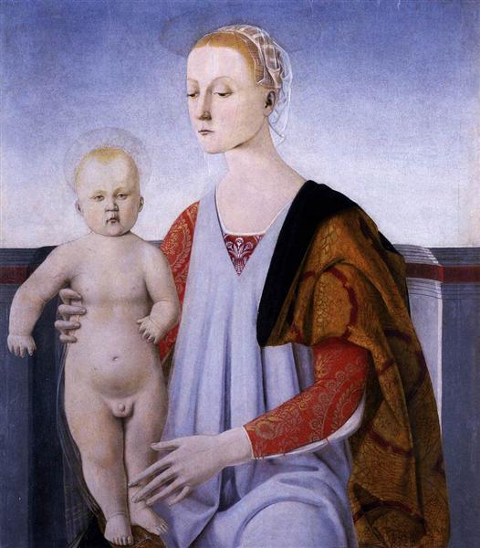 Virgin and Child - Piero della Francesca