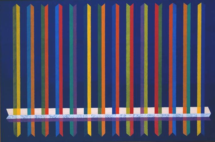 Very Sharp, 1965 - Piero Dorazio