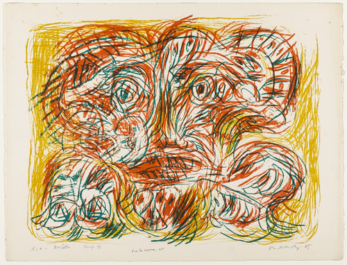 Ancestor (Ancêtre), 1965 - Pierre Alechinsky