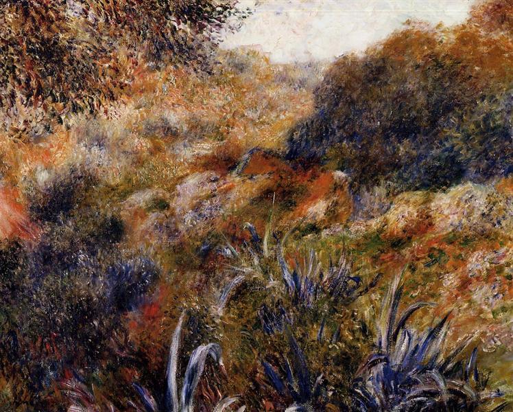 Algerian Landscape (The Ravine of the Wild Women), 1881 - Pierre-Auguste Renoir