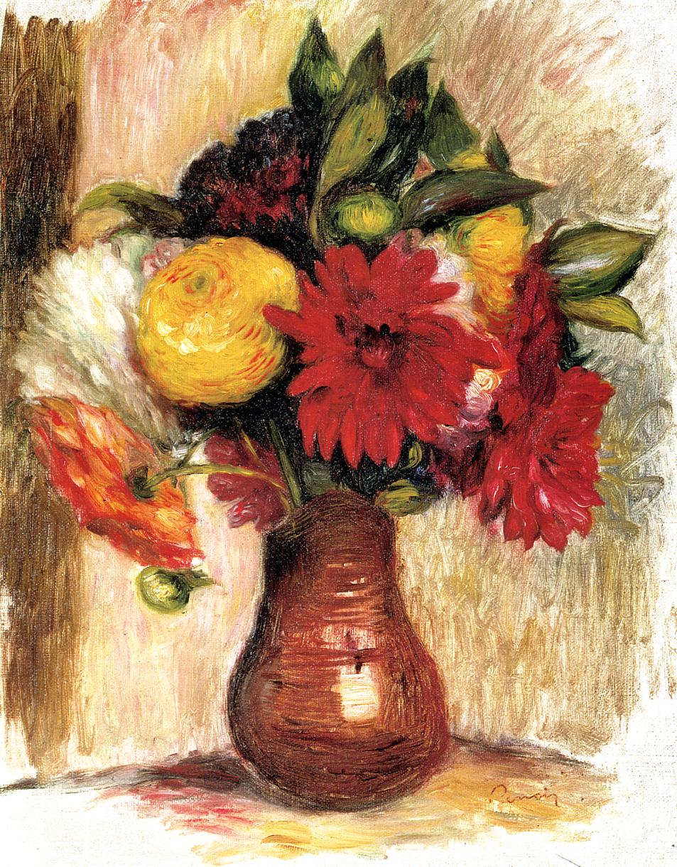 Bouquet Of Flowers In An