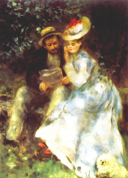 Confidences, 1875 - Pierre-Auguste Renoir
