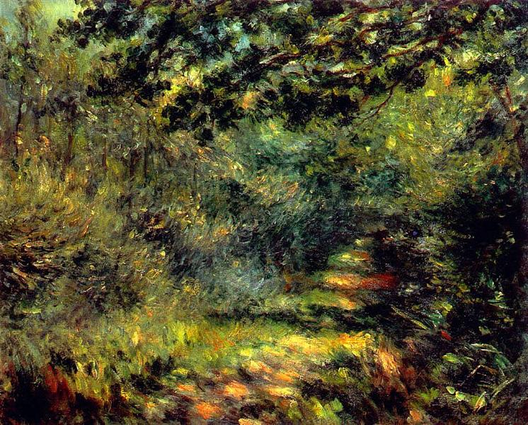 Forest Path, 1875 - Pierre-Auguste Renoir