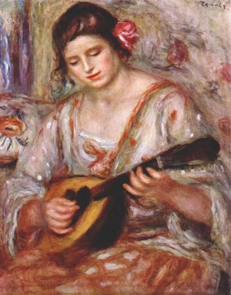 the girl with the mandolin Young girl playing mandolin - jean-françois millet was a french painter and one of the founders of the barbizon school in rural france millet is noted for his.