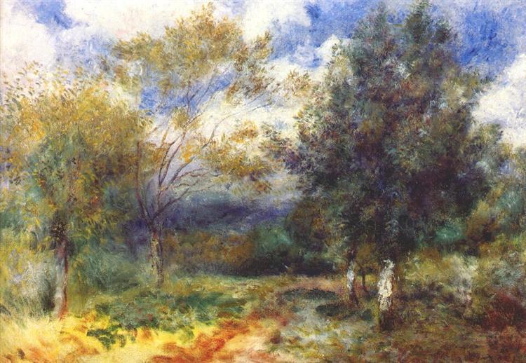 Landscape in the Sun, 1880 - 1881 - Pierre-Auguste Renoir