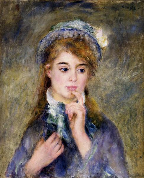 The Ingenue, 1877 - Pierre-Auguste Renoir