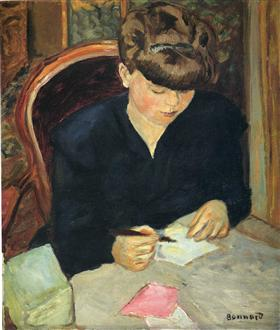 The Letter - Pierre Bonnard
