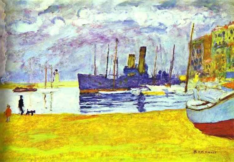 The Port of Cannes - Pierre Bonnard