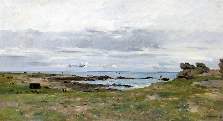 Sur la Côté Bretonne, 1883 - Pierre Emmanuel Damoye