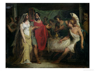 The Wedding of Alexander the Great and Roxana, 1810 - Pierre-Narcisse Guerin