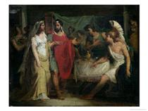 The Wedding of Alexander the Great and Roxana - Pierre Narcisse Guérin