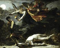 Justice and Divine Vengeance pursuing Crime (study) - Pierre Paul Prud'hon