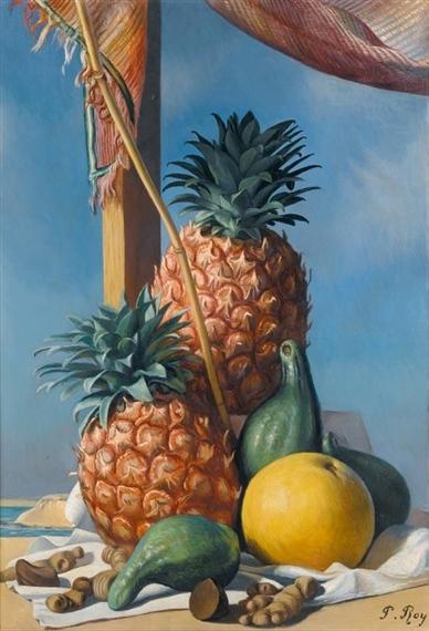 Les ananas - Pierre Roy
