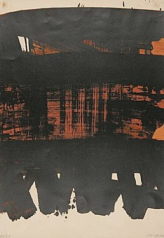Lithographie No. 22, 1969 - Pierre Soulages