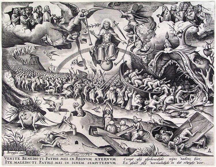 Last Judgment, 1558 - Pieter Bruegel the Elder