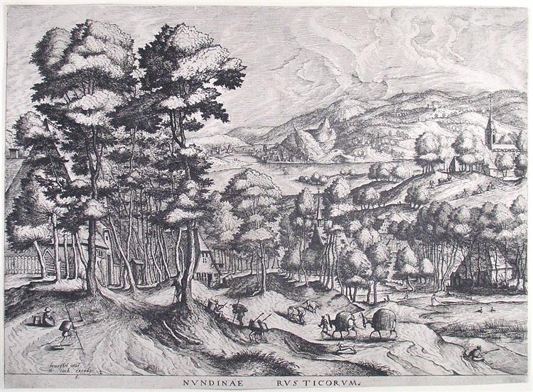 Market for the country - Pieter Bruegel the Elder