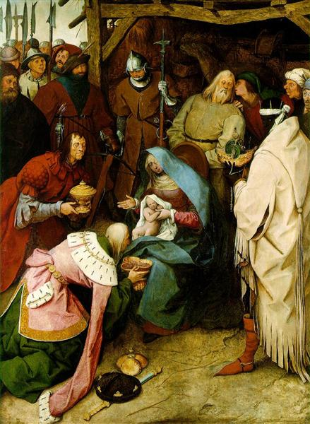 The Adoration of the Kings, 1564 - Pieter Bruegel the Elder