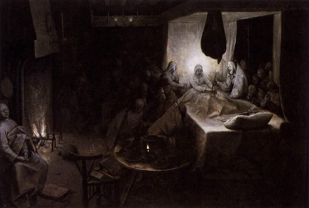 The Death of the Virgin, c.1564 - Pieter Bruegel the Elder