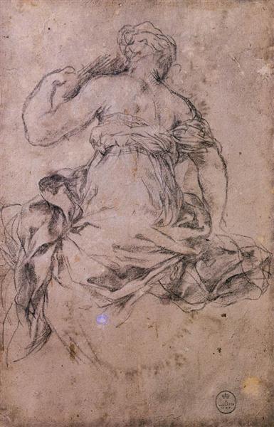 Study for the Age of Silver, c.1635 - Pietro da Cortona