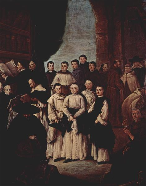 Friars in Venice - Pietro Longhi