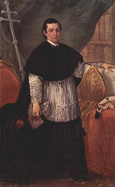 Portrait of Bishop Benedetto Ganassoni, 1774 - Pietro Longhi