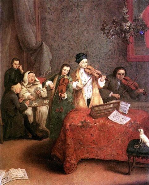 The Concert, 1741 - Pietro Longhi