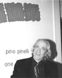 Art movement post painterly abstraction for Pino pinelli