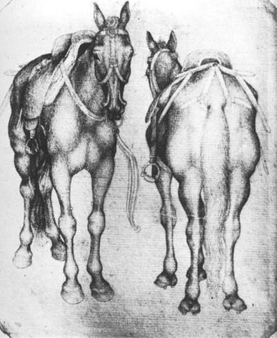 Horses, 1433 - Пизанелло