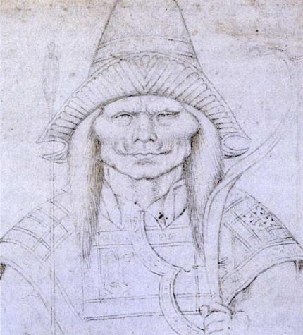 Study of a Head, 1436 - Пизанелло