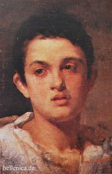 Portrait of a boy - Polychronis Lembesis