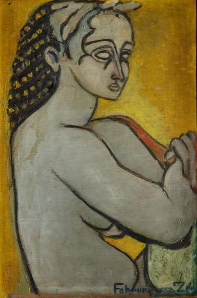 Antique portrait, 1940 - Fahrelnissa Zeid d'Irak