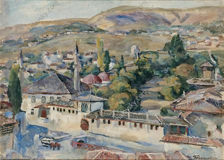 Bakhchisarai. Common view., 1930